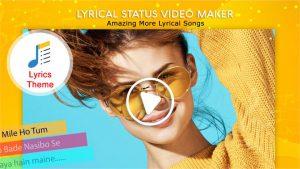 My Photo Lyrical Status Video Maker With Music slider1