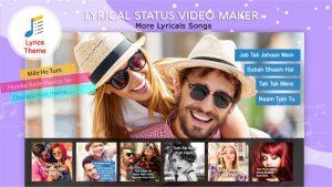 My Photo Lyrical Status Video Maker With Music slider2
