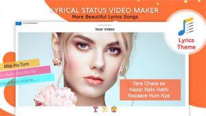 My Photo Lyrical Status Video Maker With Music slider4