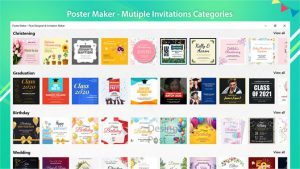 Poster Maker – Flyer Designer & Invitation Maker slider2