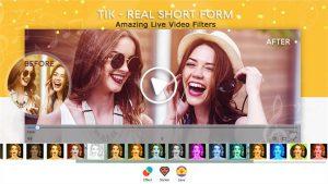 Tik – Real Short Form Mobile Video slider1