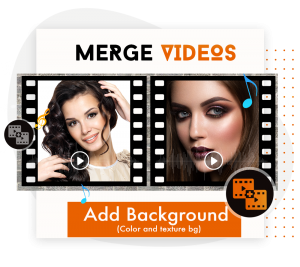 How to Add Background to video joiner